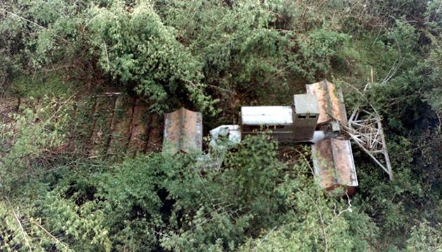 Cỗ máy phá rừng của LeTourneau lúc thử nghiệm tại miền Nam Việt Nam